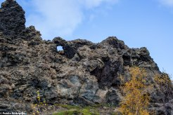 Dimmuborgir - Formação de lavas